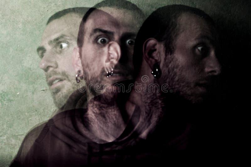 esquizofrenia imagenes de archivo