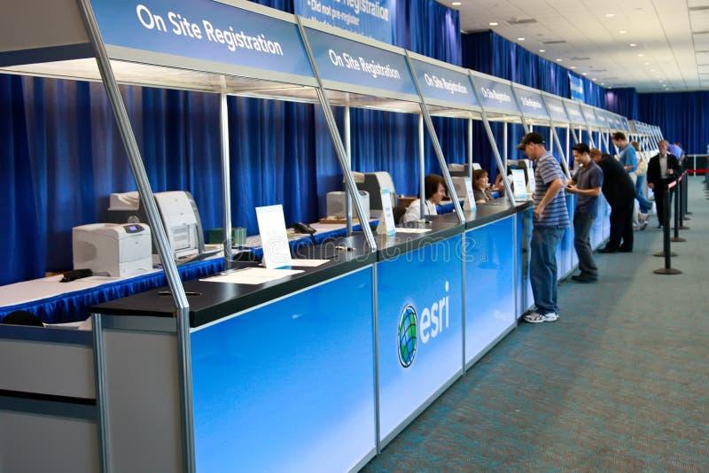 ESRI User Conference 2010 Registration Area