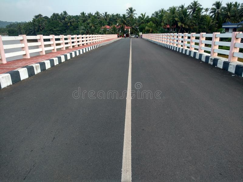 Essa opinião da ponte foto de stock