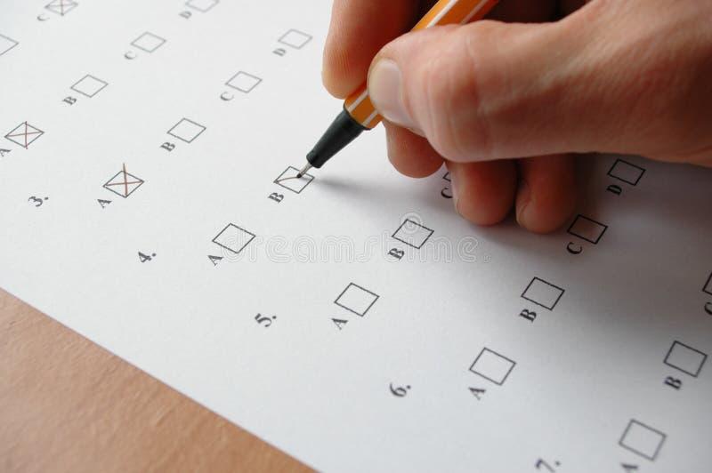 Essai images stock