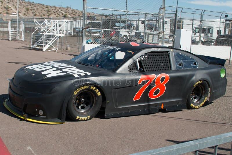 Essai de tasse de sprint de NASCAR image libre de droits