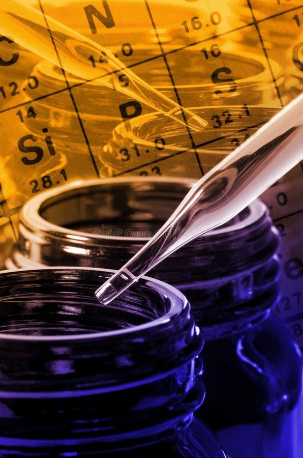 Essai en laboratoire photographie stock