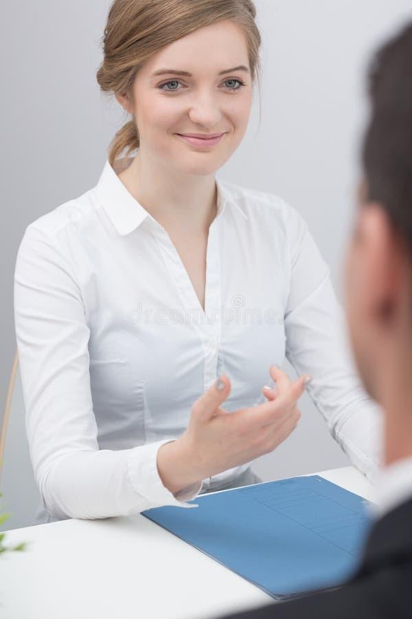 Essai psychométrique dans le recrutement image libre de droits