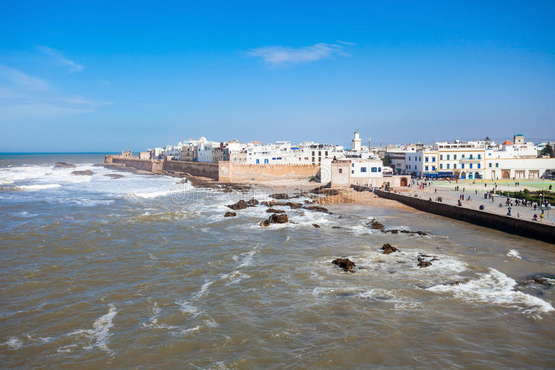 Essaouira στο Μαρόκο στοκ εικόνες με δικαίωμα ελεύθερης χρήσης