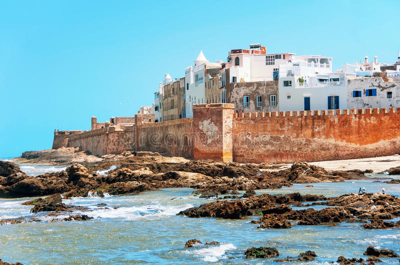 Essaouira is a city in Morroco. Essaouira is a city and port on the Atlantic coast in Morocco, North Africa royalty free stock photo