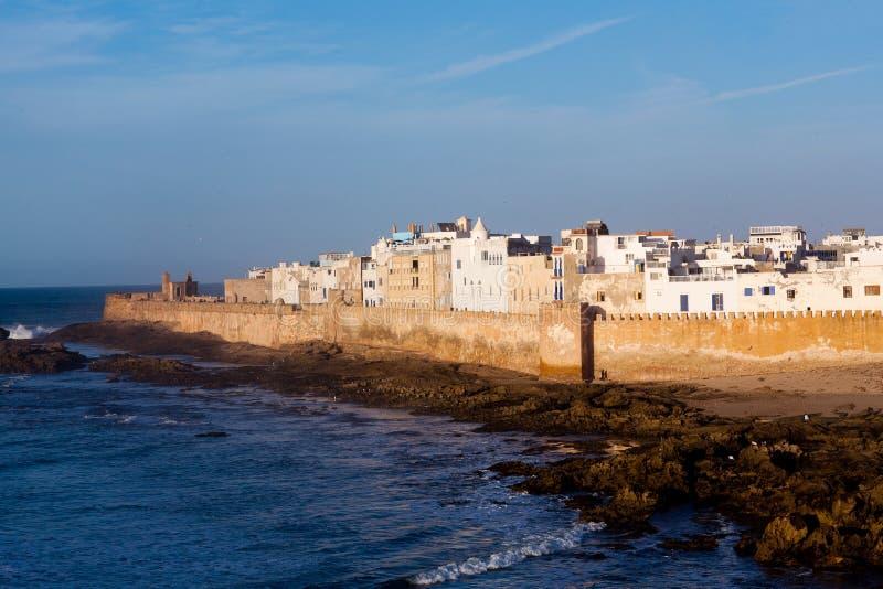 Essaouira fästning i Marocko royaltyfri bild