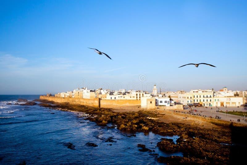 Essaouira-Festung, Marokko lizenzfreies stockfoto