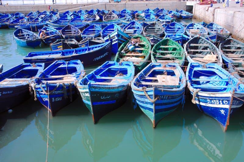 essaouira Morocco łodzi obraz royalty free