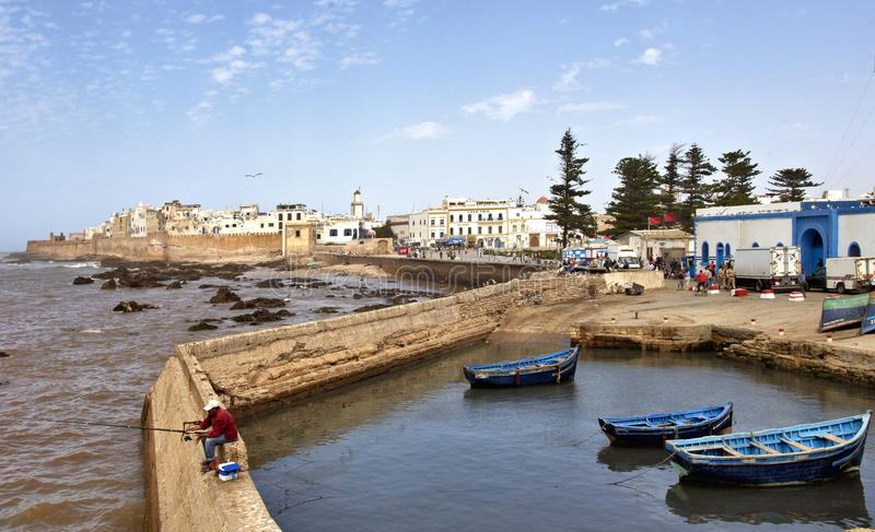 Download ESSAOUIRA, MOROCCO editorial image. Image of walls, attraction - 22142455