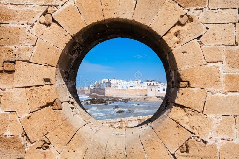 Essaouira in Morocco. Essaouira Ramparts in Essaouira, Morocco. Essaouira is a city in the western Moroccan region on the Atlantic coast royalty free stock photos