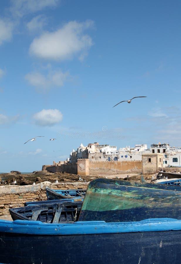 Essaouira town in Morocco stock photos