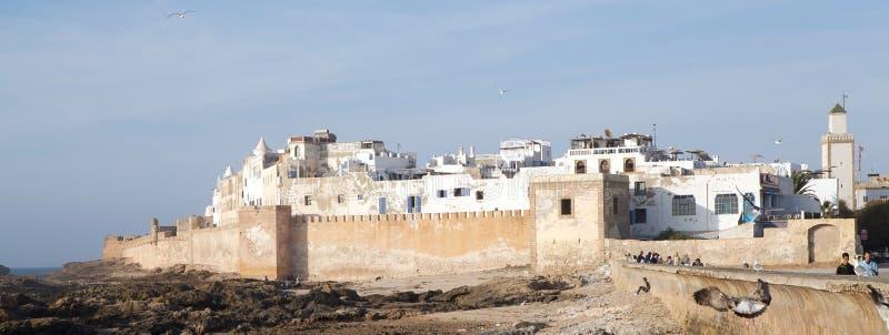 Essaouira versterkte stad royalty-vrije stock foto