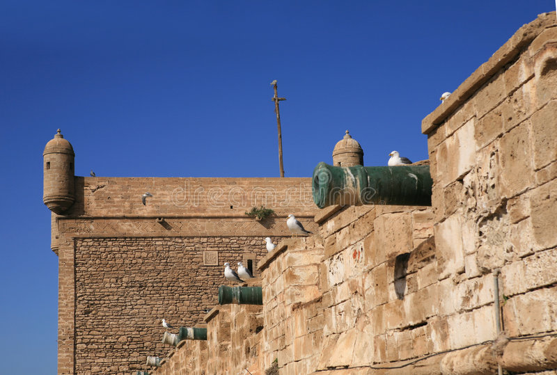 essaouria Morocco ramparts zdjęcia stock