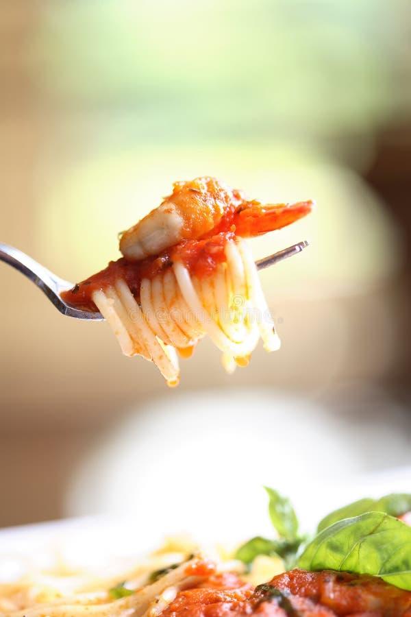 Essbare Meerestiere pasta2 lizenzfreies stockbild
