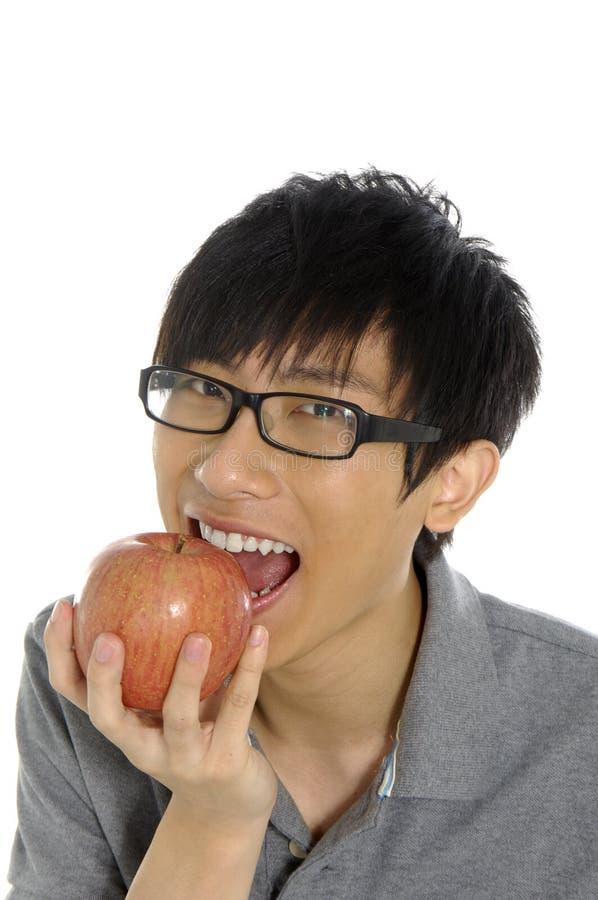 Essen der Frucht lizenzfreie stockbilder