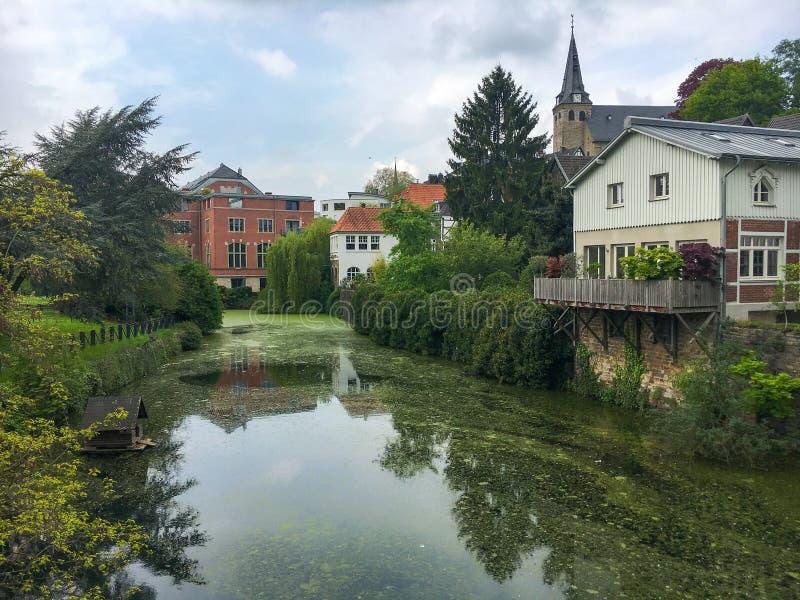 Essen Kettwig, Tyskland fotografering för bildbyråer