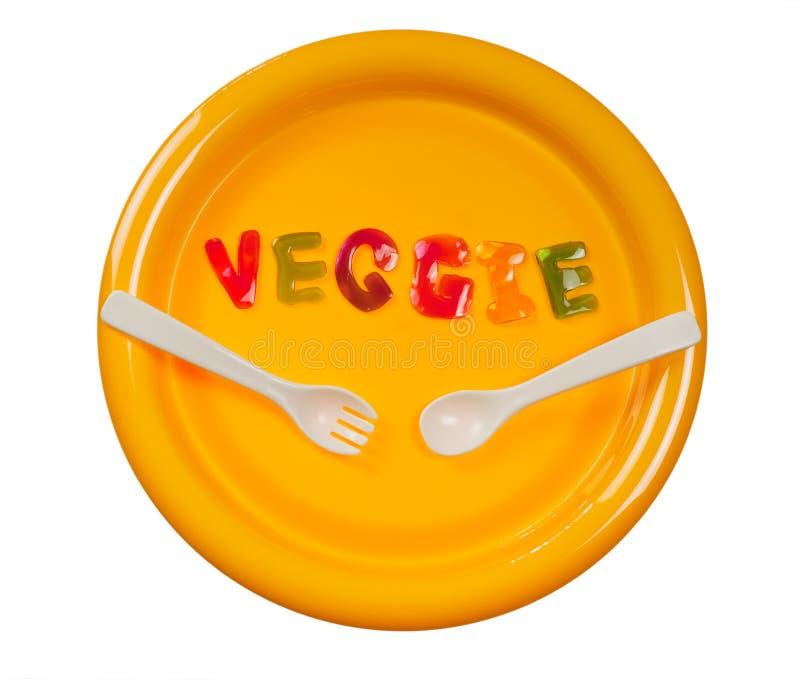 Essen Sie Veggie lizenzfreies stockfoto