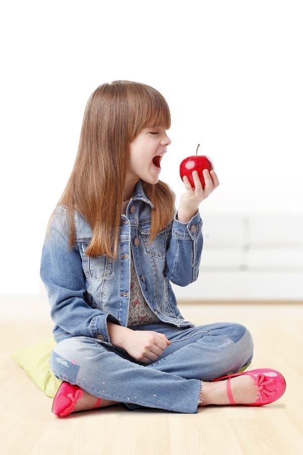 Essen von Apple stockfotos