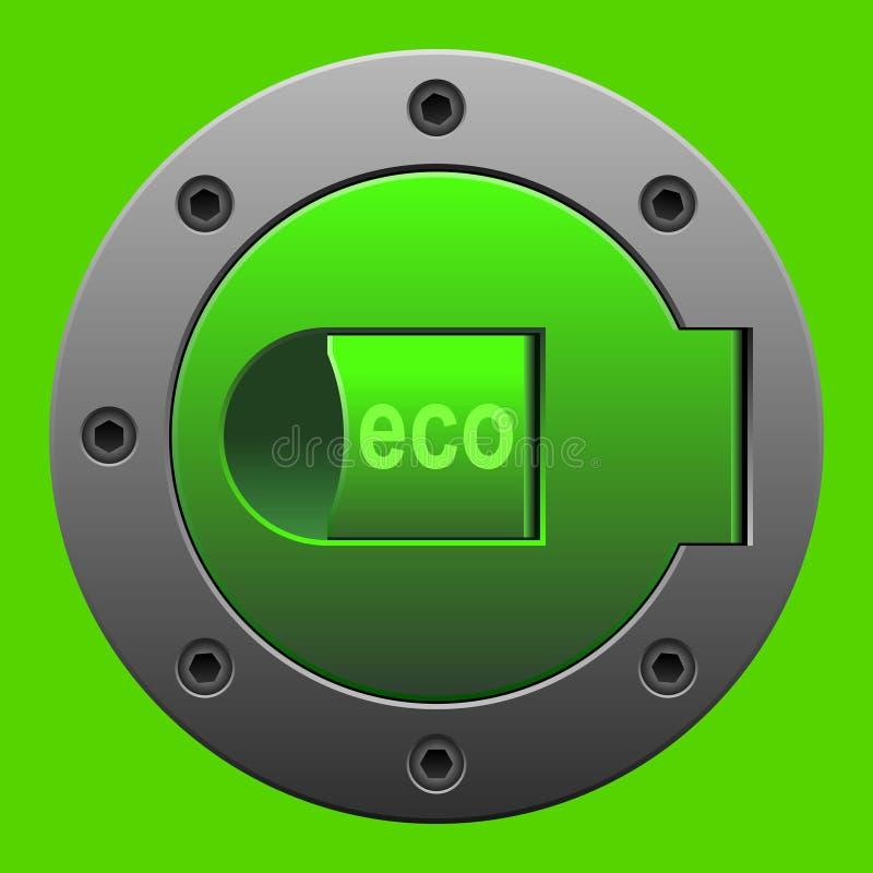 Essence d'Eco illustration stock