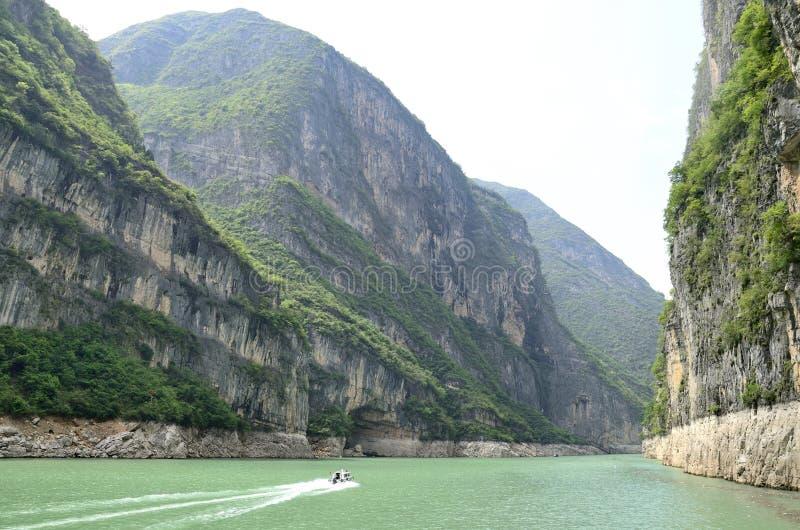 Essence scénique de la Chine le fleuve Yangtze Three Gorges photos stock