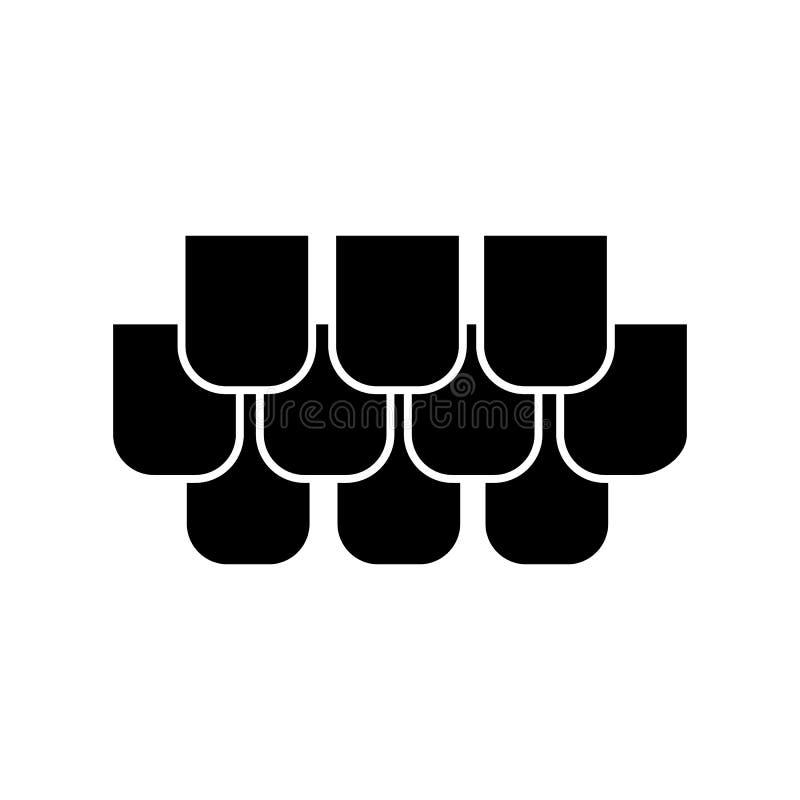 Essente l'icône Éléments d'icône de constraction Conception graphique de qualité de la meilleure qualité Signes et icône de colle illustration libre de droits