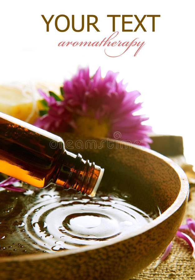 Essentiële Olie stock afbeeldingen
