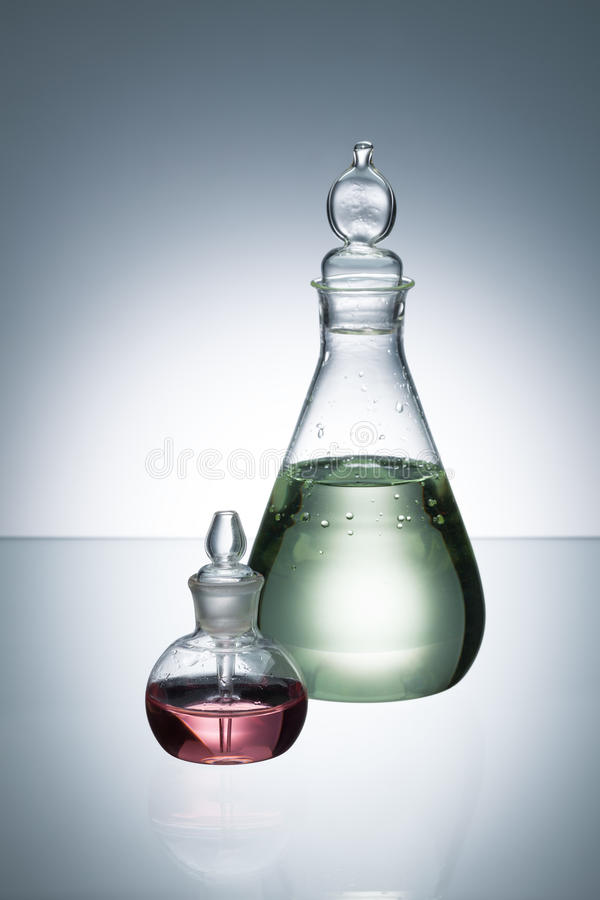 Essentiële olie en geur stock foto's