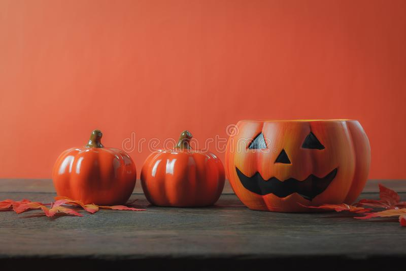 Essential accessory of Happy Halloween decorations festival concept stock image