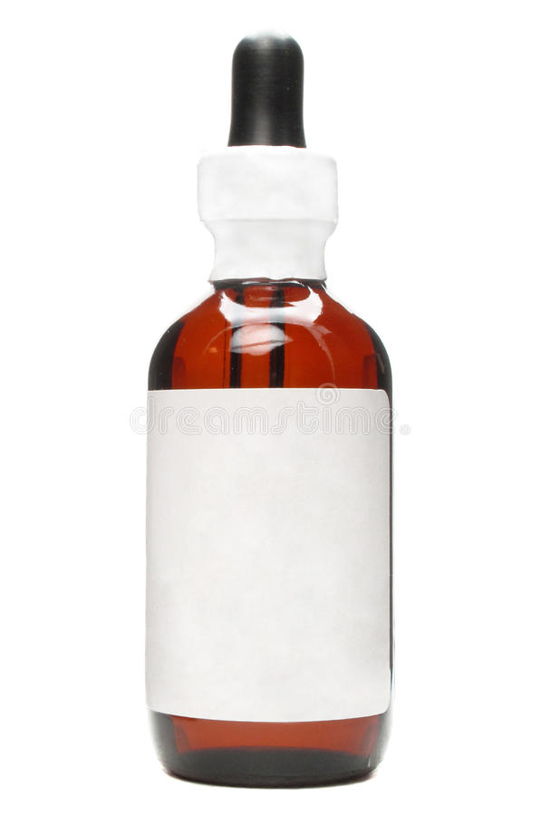 Essential oil package royalty free stock photo