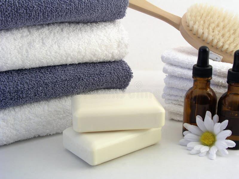 essentials spa στοκ εικόνες