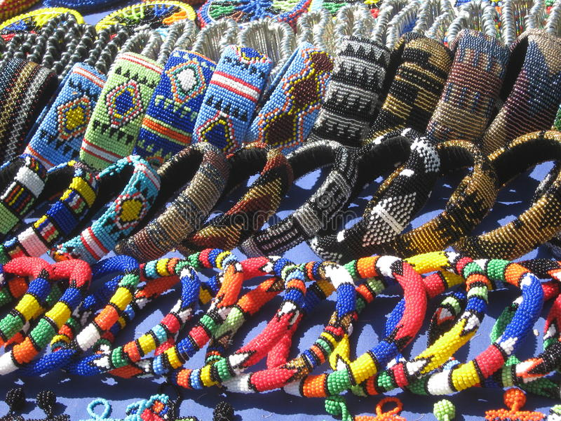 Essenwoodvlooienmarkt Durban Zuid-Afrika royalty-vrije stock foto's