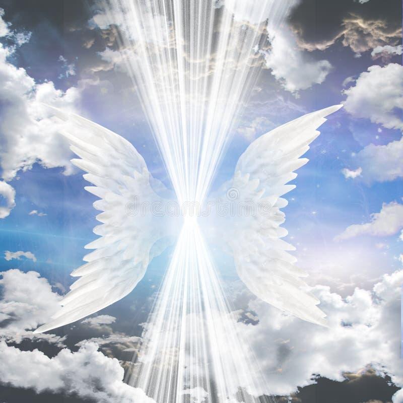 Essere angelico royalty illustrazione gratis