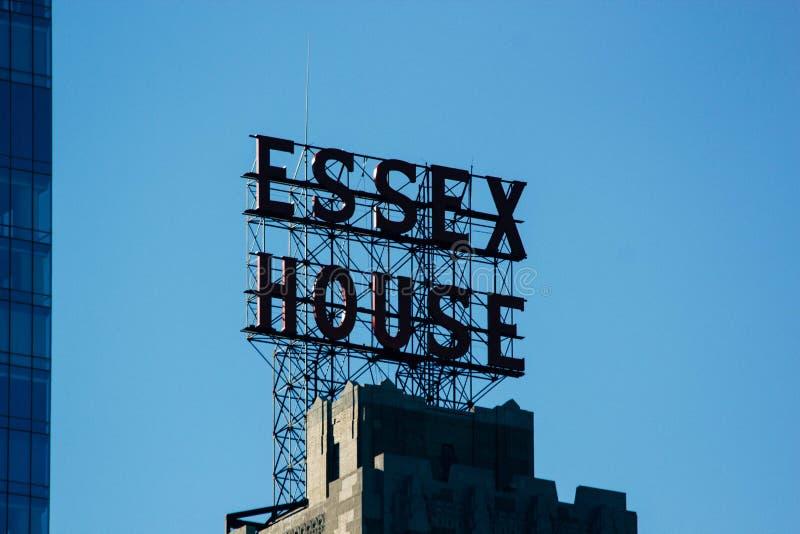 Знак дома Essex на крыше Бесплатное  из Общественного Достояния Cc0 Изображение