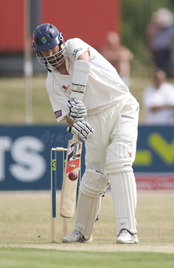 Essex v Glamorgan Cricket Match stock photo