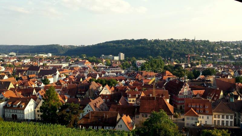 Esslingen f.m. Neckar arkivfoto