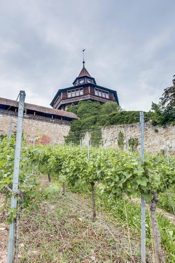 Download Esslingen Am Neckar Castle's Big Tower, Germany Stock Image - Image of european, neckar: 39508305