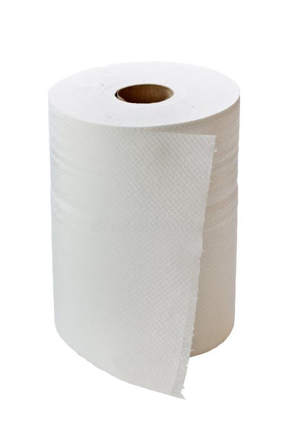 Essuie-main de papier images libres de droits