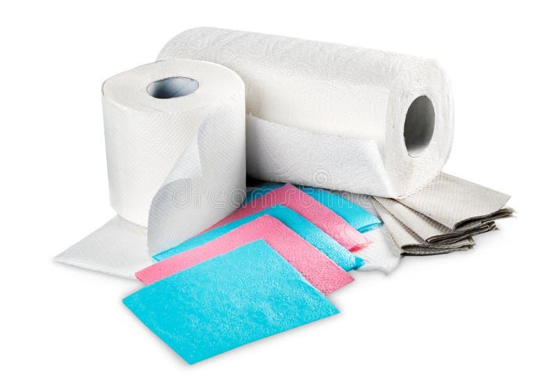 Essuie-main de papier image stock