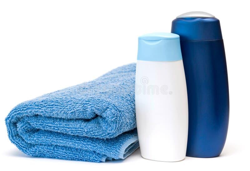 Essuie-main et shampooing? photos libres de droits