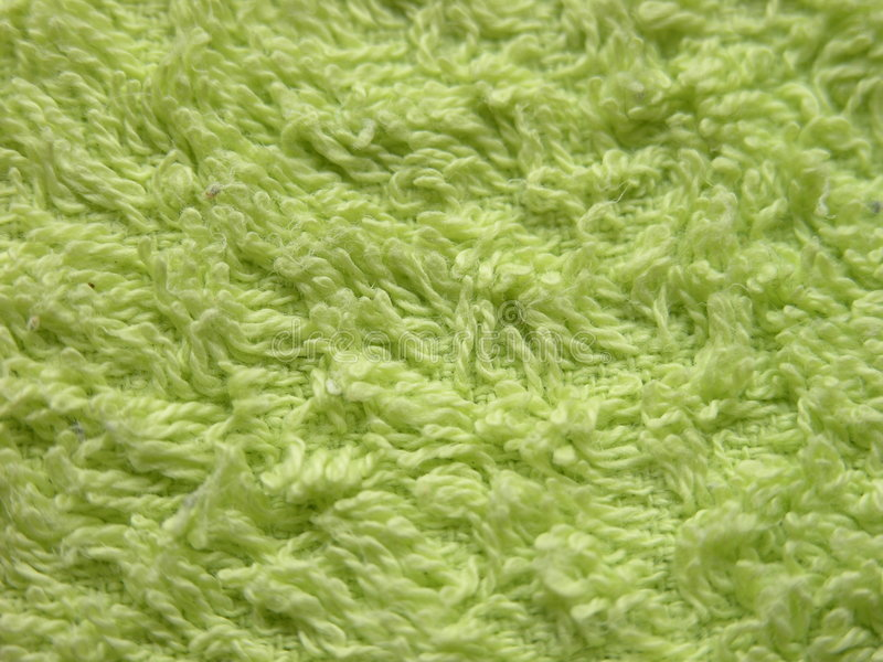 Essuie-main vert photo libre de droits