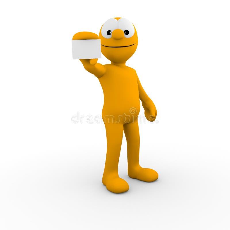 Está aqui meu cartão