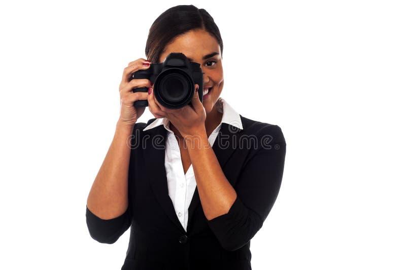 Está você pronto para uma imagem? fotos de stock royalty free