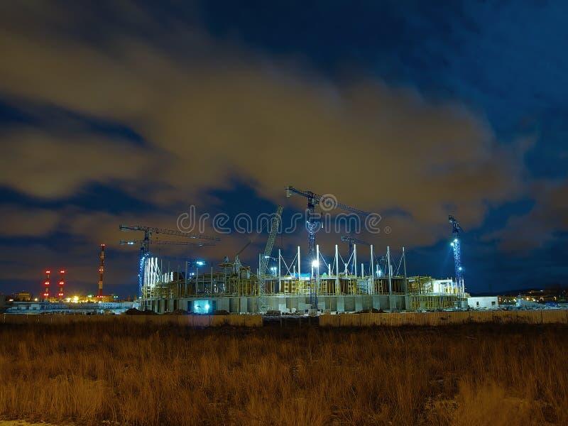 Estádio Báltico da arena imagem de stock royalty free