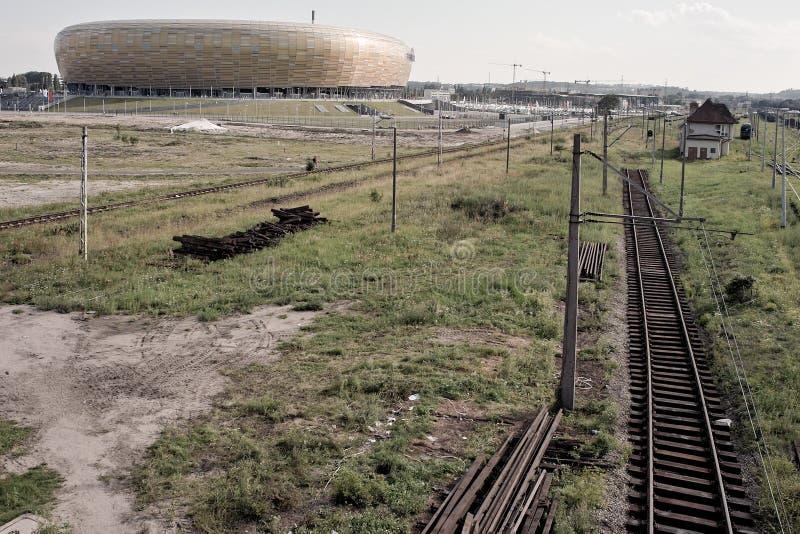 Estádio Báltico da arena fotos de stock