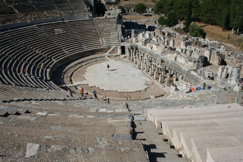 Estádio bíblico de Ephesus imagem de stock