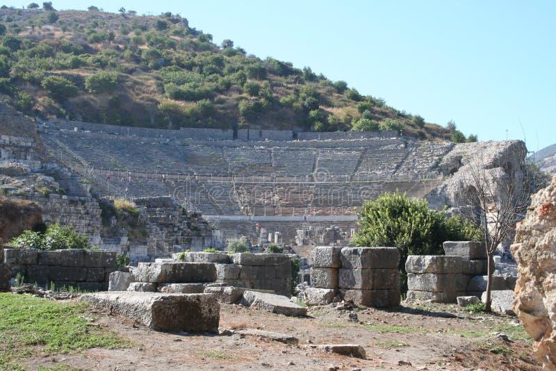 Estádio bíblico de Ephesus imagens de stock royalty free