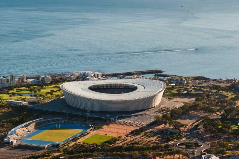 Estádio Capetown África do Sul de Greenpoint fotografia de stock royalty free