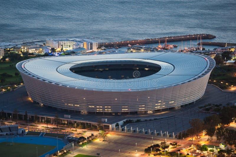 Estádio Capetown África do Sul de Greenpoint imagens de stock