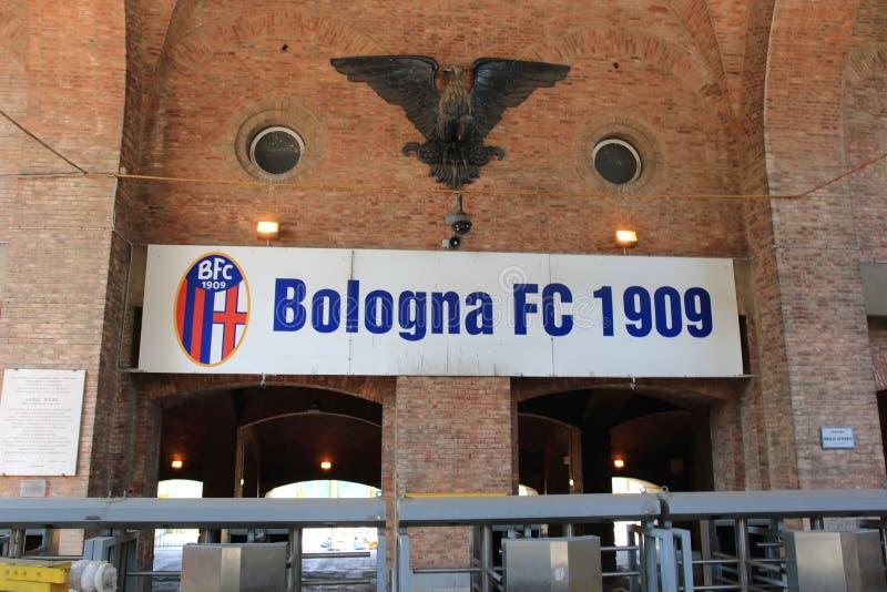 Estádio da Bolonha de FC imagens de stock