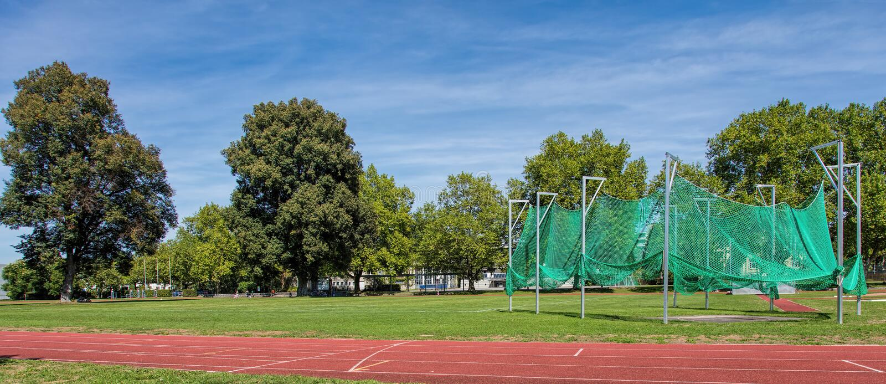 Estádio da facilidade de esporte de Munot fotos de stock royalty free
